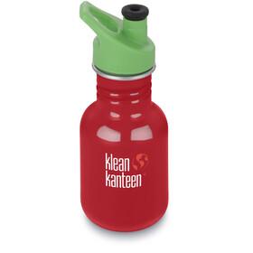 Klean Kanteen Kid Classic Bottle Sport Cap 3.0 355ml Barn mineral red